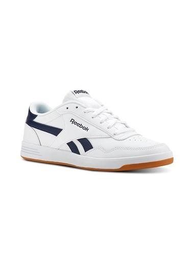 Reebok Reebok Cn3196 Royal Techque Çizgili Erkek Tenis Ayakkabısı Beyaz